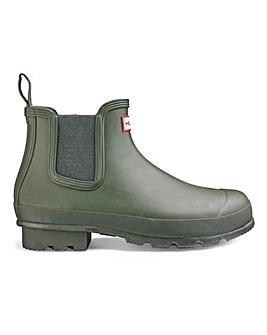 Hunter Mens Original Chelsea Boots