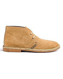 Ben Sherman Hunt Desert Boots Wide Fit