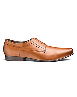 Formal Leather Derby Shoes Standard Fit