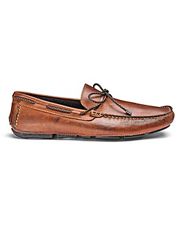 Dune Barnstable Woven Lace Driver Shoes