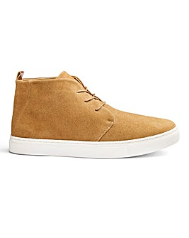 Flintoff Suede Tan High Top Boots