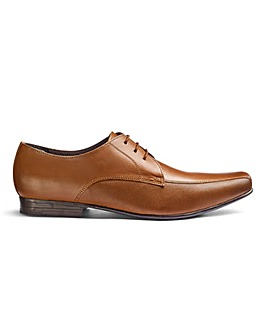 Leather Embossed Derbys Extra Wide Fit