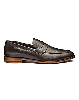 Leather Saddle Loafers Standard Fit.