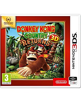 Donkey Kong Country Returns Selects 3DS