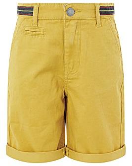 Monsoon Frank Mustard Shorts