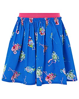 Monsoon Finella Flamingo Skirt