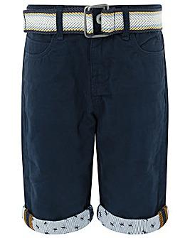 Monsoon Natty Navy Shorts