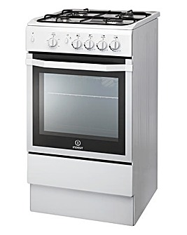 Indesit 50cm Gas Single Oven