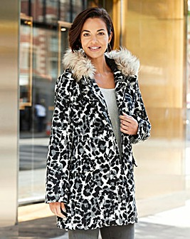 Joanna Hope Print Coat