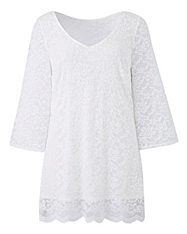 Joanna Hope Lace Tunic