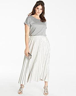 Joanna Hope Petite Pleated Skirt