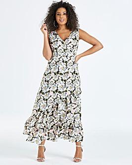 Unique 21 Floral Asymettric Hem Dress