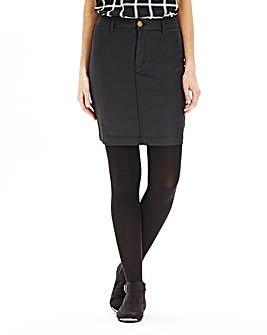 Wax Effect Pencil Skirt