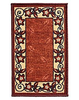 Leaf Border Design Runner and Doormat