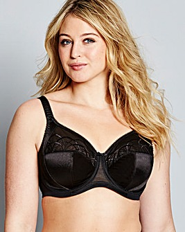 Elomi Cate Full Cup Wired Black Bra