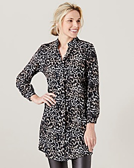 James Lakeland Animal Print Tunic