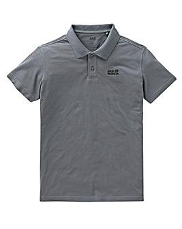 Jack Wolfskin Pique Polo Shirt