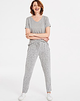 Soft Touch Tapered Trousers