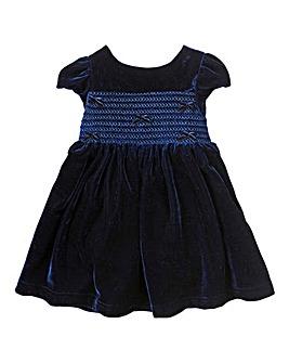 KD MINI Velour Occasion Dress (1-4 yrs)