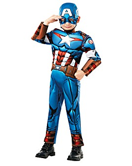 Boys Avengers Deluxe Captain America