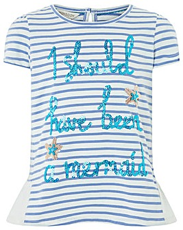 Monsoon Mermaid Slogan Top