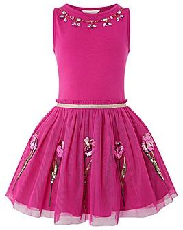Monsoon Disco Tulip Dress