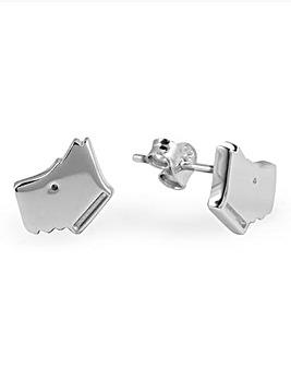 Radley Scotty Dog Stud Earrings