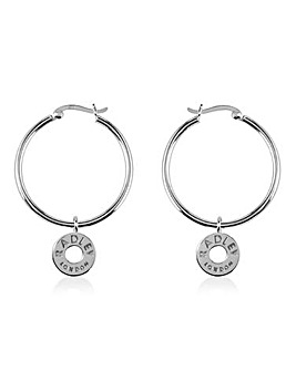 Radley Hoop Charm Earrings