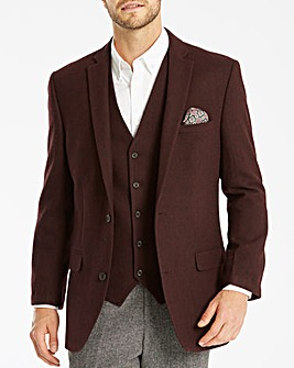 Black Label Tweed Wool Blazer Regular