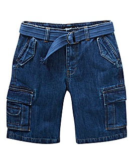 Jacamo Axel Denim Cargo Short