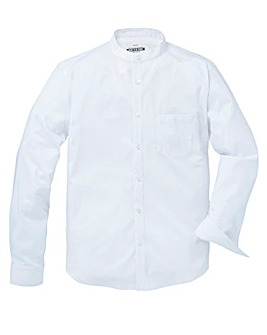 Jacamo Stretch L/S Grandad Shirt Long