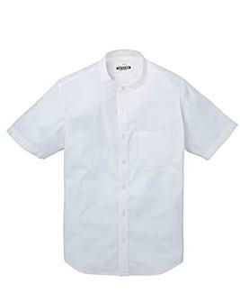 Jacamo Stretch S/S Grandad Shirt Regular
