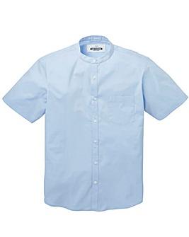 Jacamo Stretch S/S Grandad Shirt Long