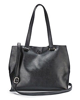 Mia Black Shopper Bag