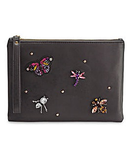 Jewelled Clutch Bag