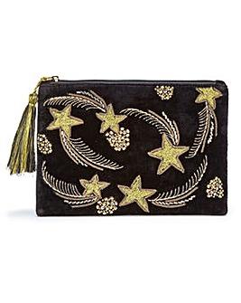 Glamorous Embellished Clutch Bag