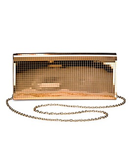 Mirror Clutch Bag