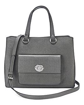 Lock Detail Tote Bag