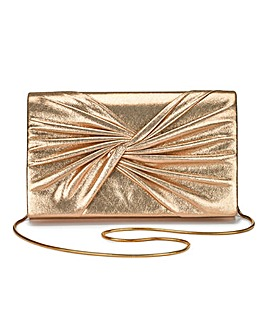 Twist Knot Clutch Bag