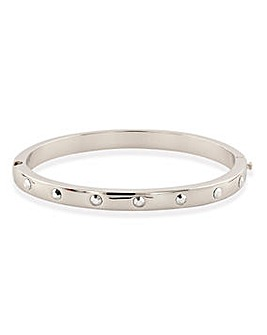 Buckley London Rocks Bangle Silver