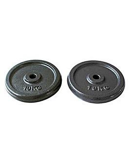 Opti 2 x 10 Kg Cast Weights