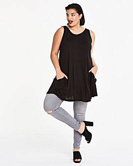 Black Swing Tunic