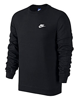 Nike Swoosh Club Crew Neck Sweat Reg