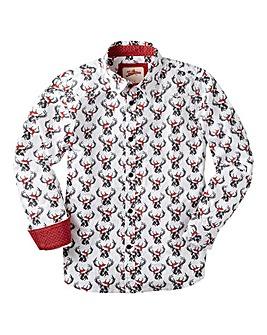 Joe Browns Boys Reindeer Shirt