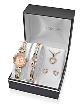 Sekonda Ladies 4-Piece Gift Set