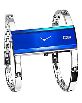 Storm Ladies lazer Blue Bracelet Watch