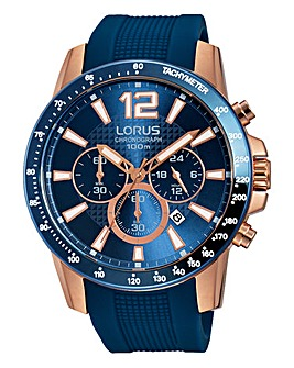 Lorus Gents Blue Sports Watch