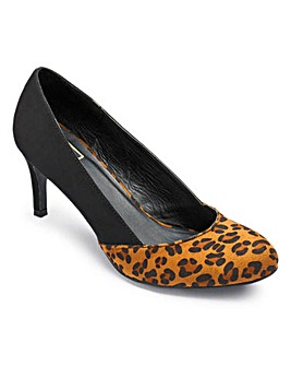 Sole Diva Court Shoe E Fit