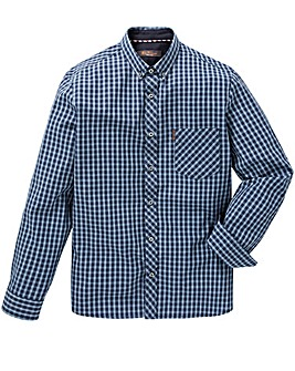 Ben Sherman Windowpane Shirt Reg