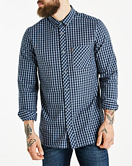 Ben Sherman Windowpane Shirt Long